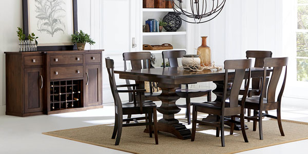 Fusion Designs handcrafted dining furniture
