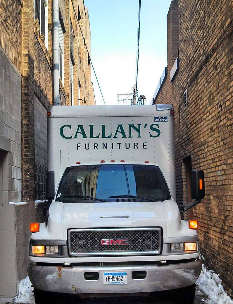 Callan Delivery Truck
