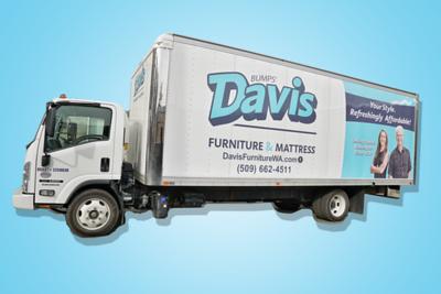Davis delivery truck