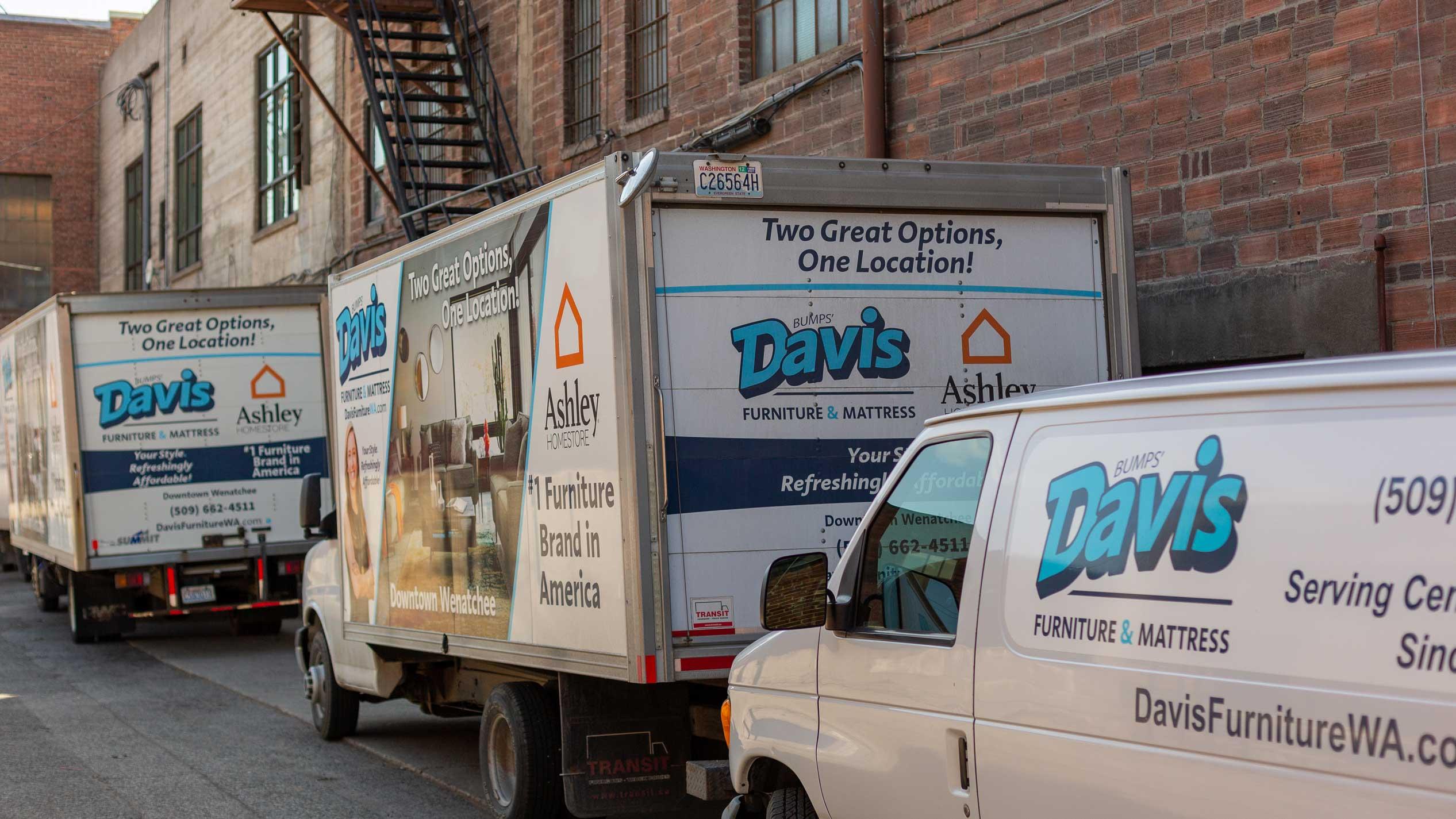 Davis delivery trucks