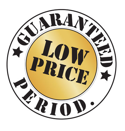 Guaranteed Low Price Period.