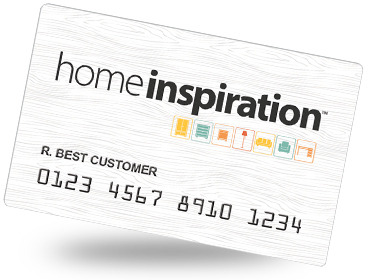 Home Inspiration Credit Card