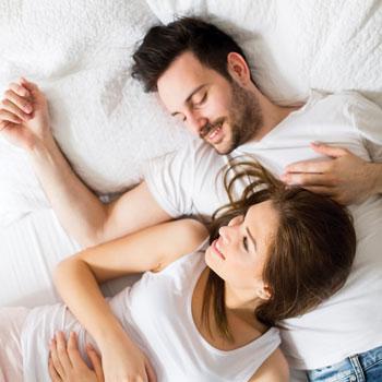 Couple Sleeping Better