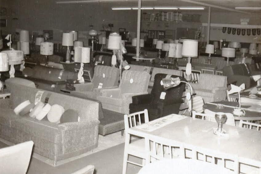 Turner Furniture Historical Photo of Appliance Sales