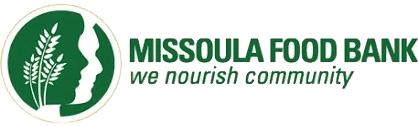 Missoula Food Bank logo - 'we nourish community'
