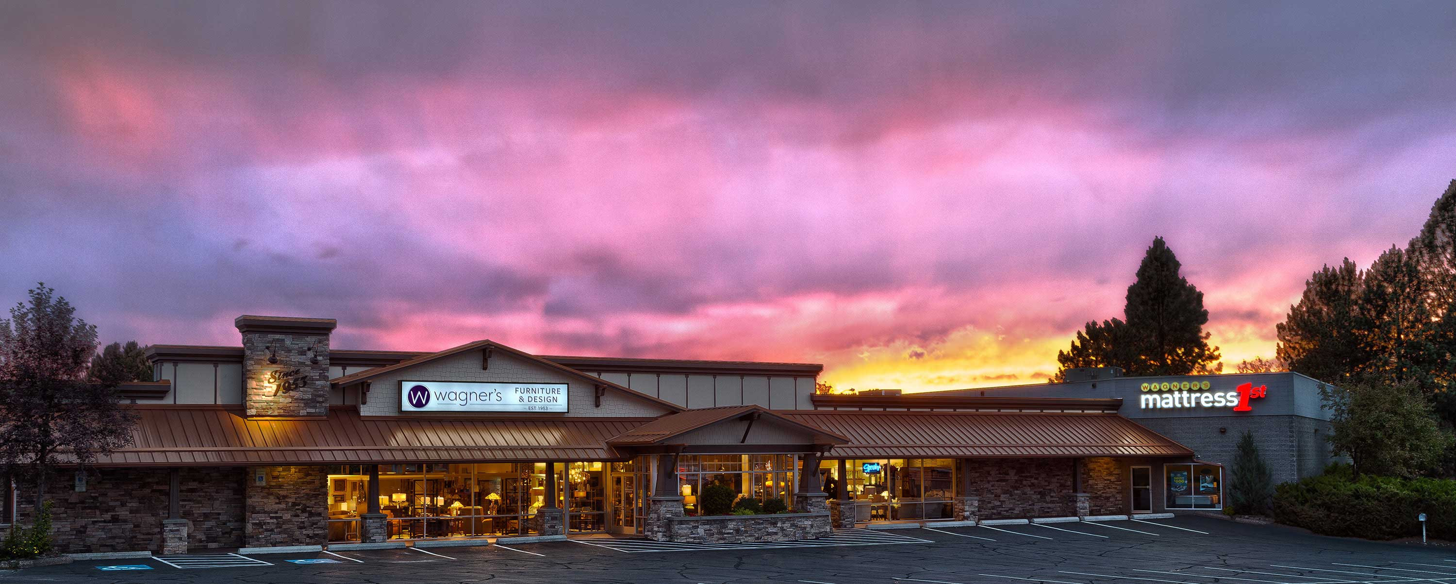 Wagner's at sunset