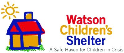 Watson Children's Shelter logo - 'A Safe Haven for Children in Crisis'